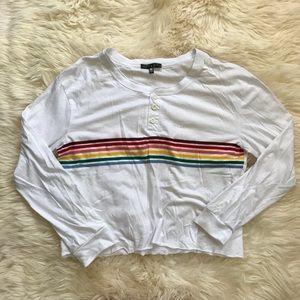 Rainbow Striped Long Sleeve